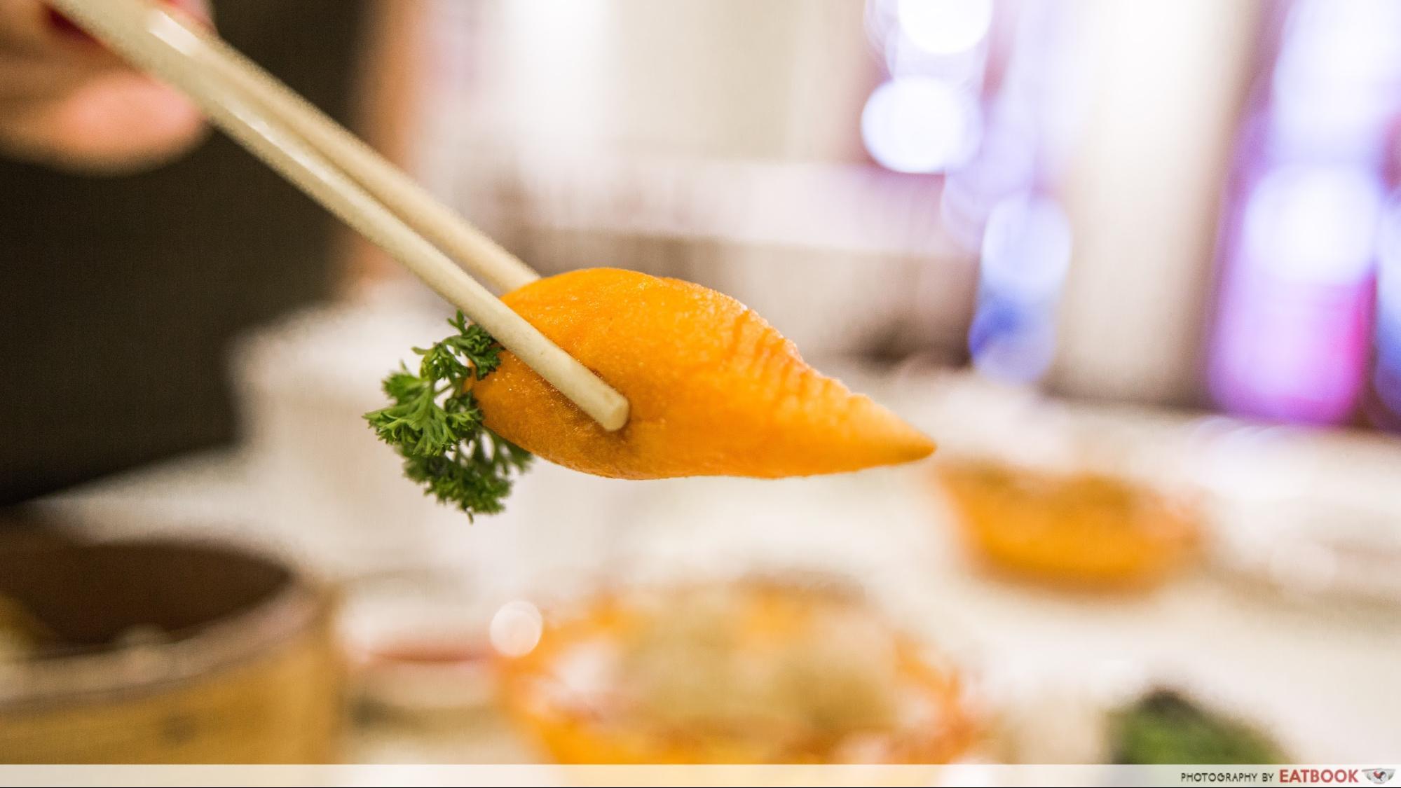 Yum Cha - carrot dim sum