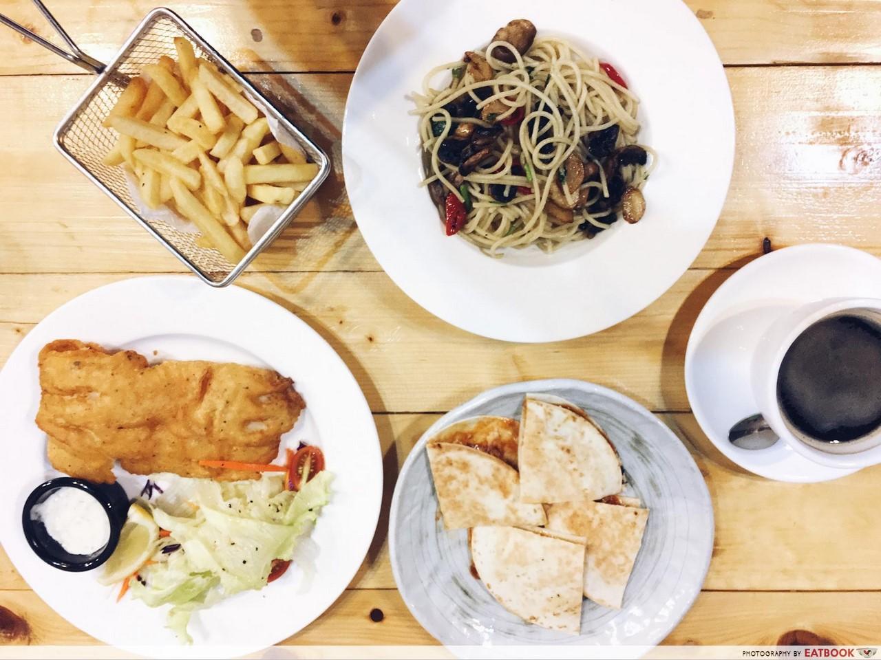 jurong cafes - next stop cafe