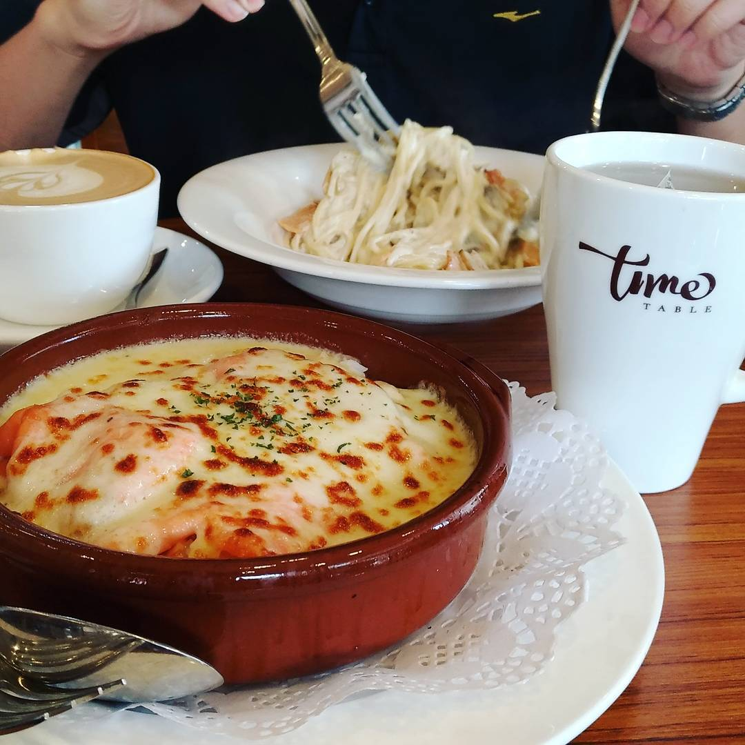 jurong cafes - time table cafe