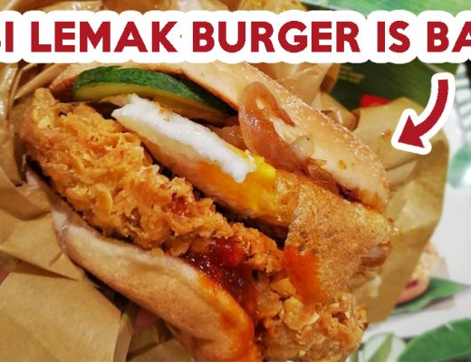 nasi lemak burger - feature