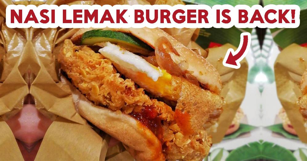 nasi lemak burger - feature