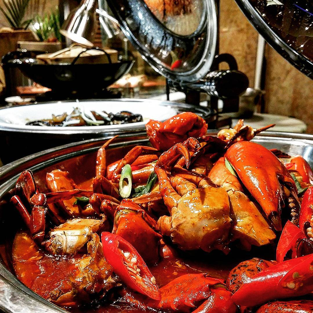 hotel seafood buffet - the square novotel