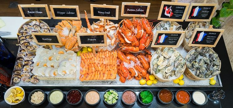 hotel seafood buffet - oscar's