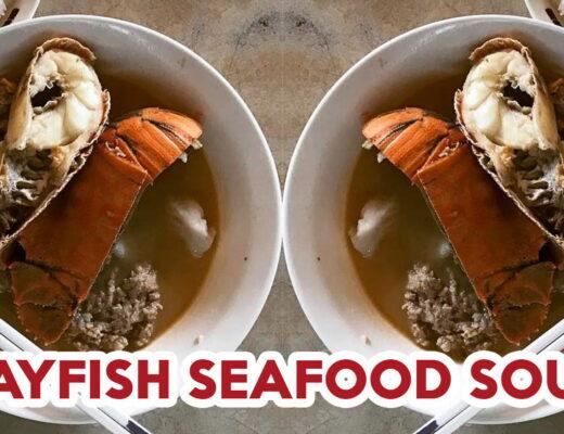 seafood noodle soup - feature image