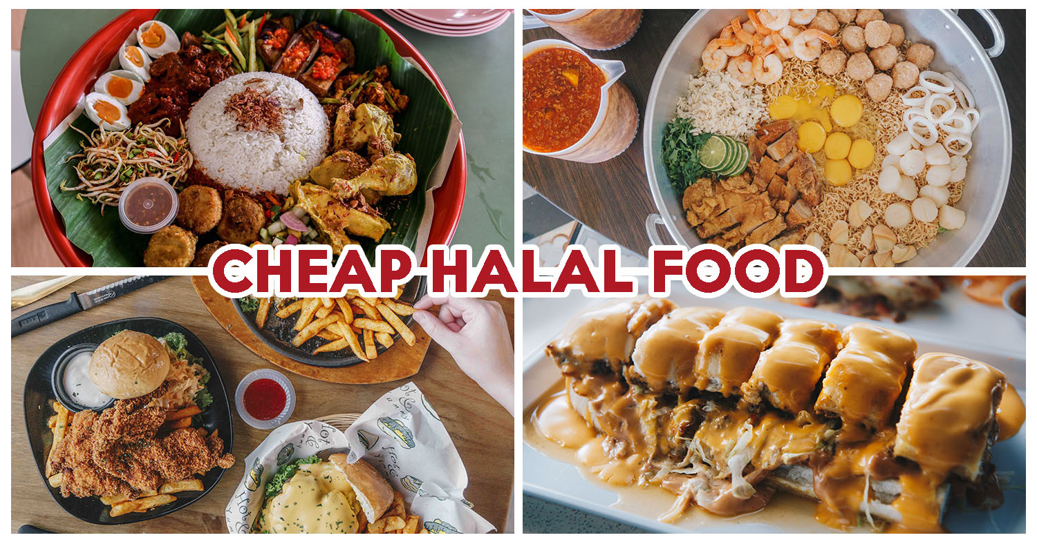 10 Cheap Halal Food Places With Huge Portions And Mains
