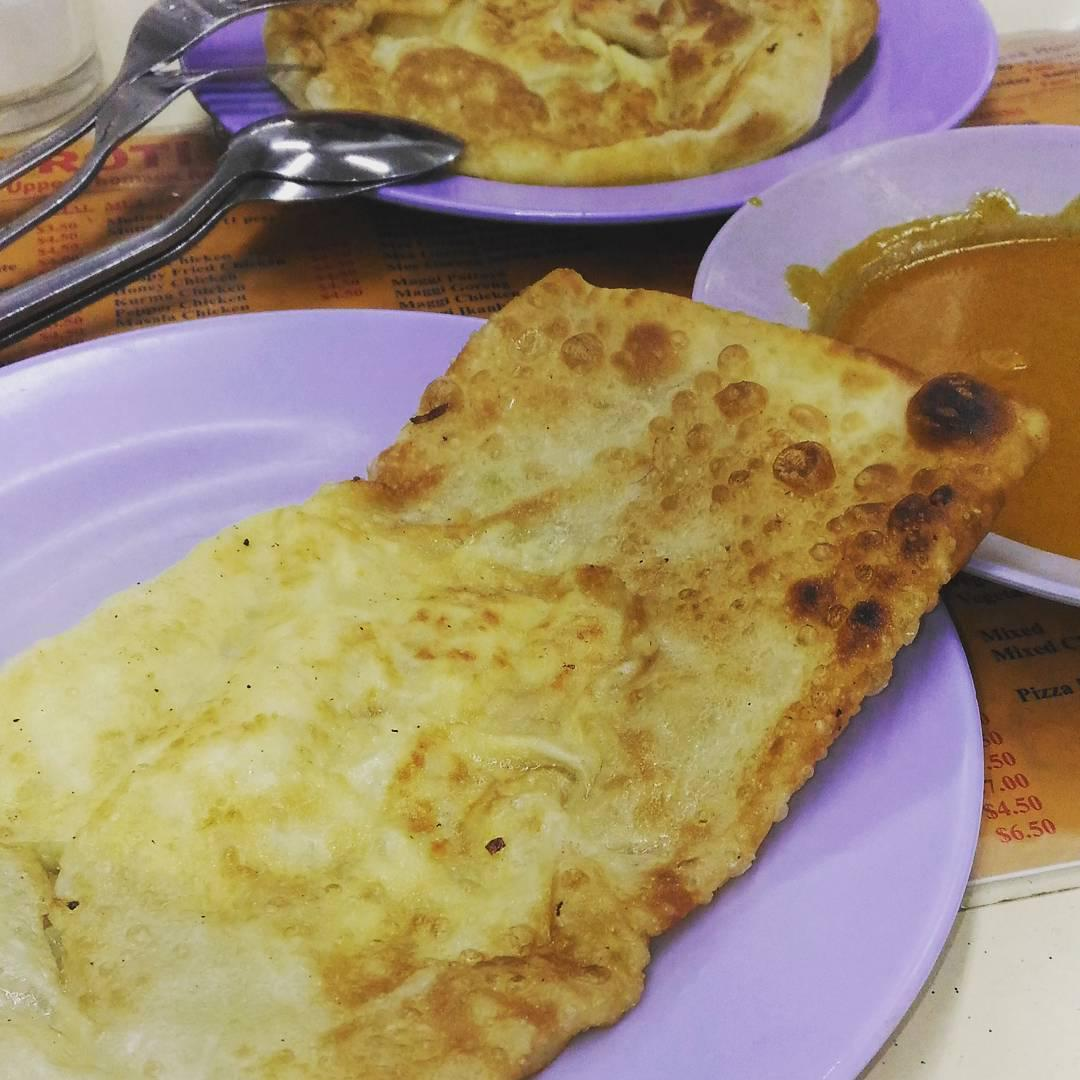 Crispy Prata - The Roti Prata House