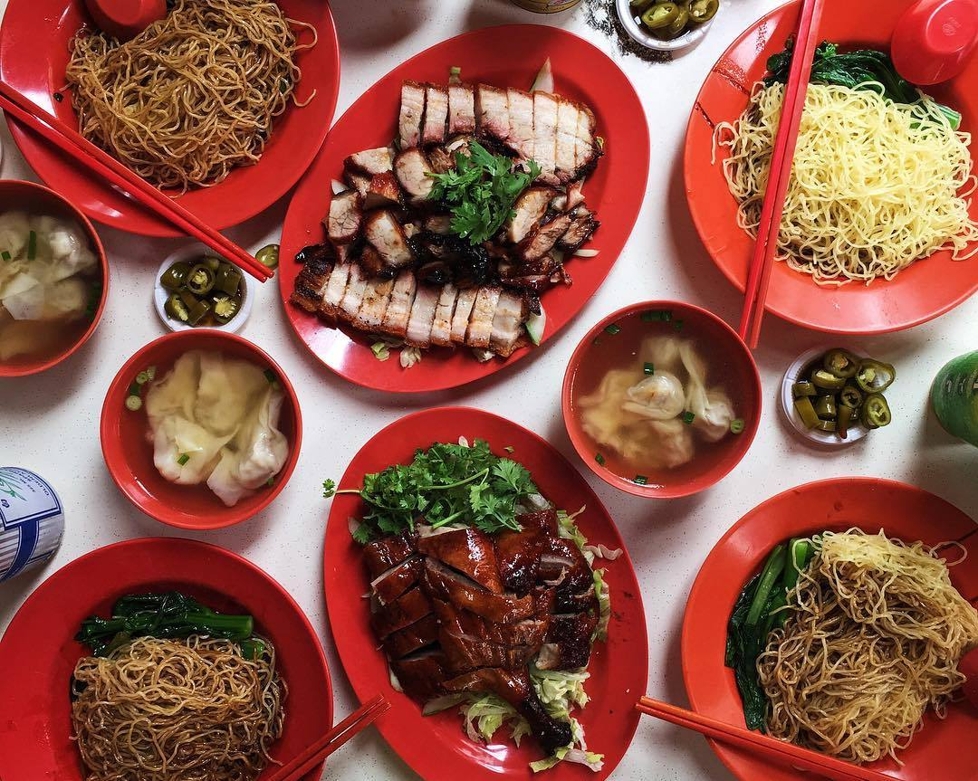 Famous Sio Bak - foong kee roasted meat