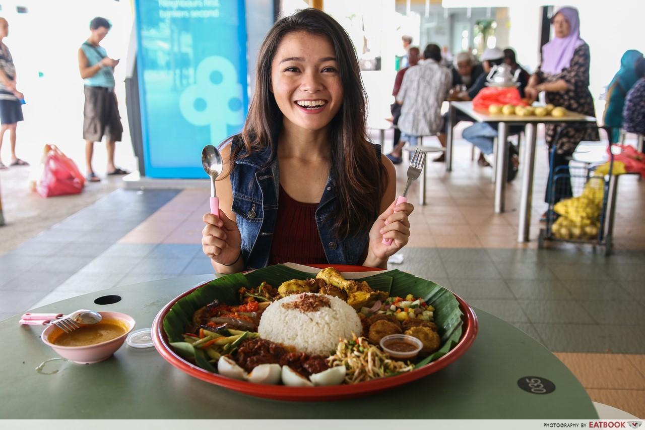 Halal food places - Enak Nasi ambeng