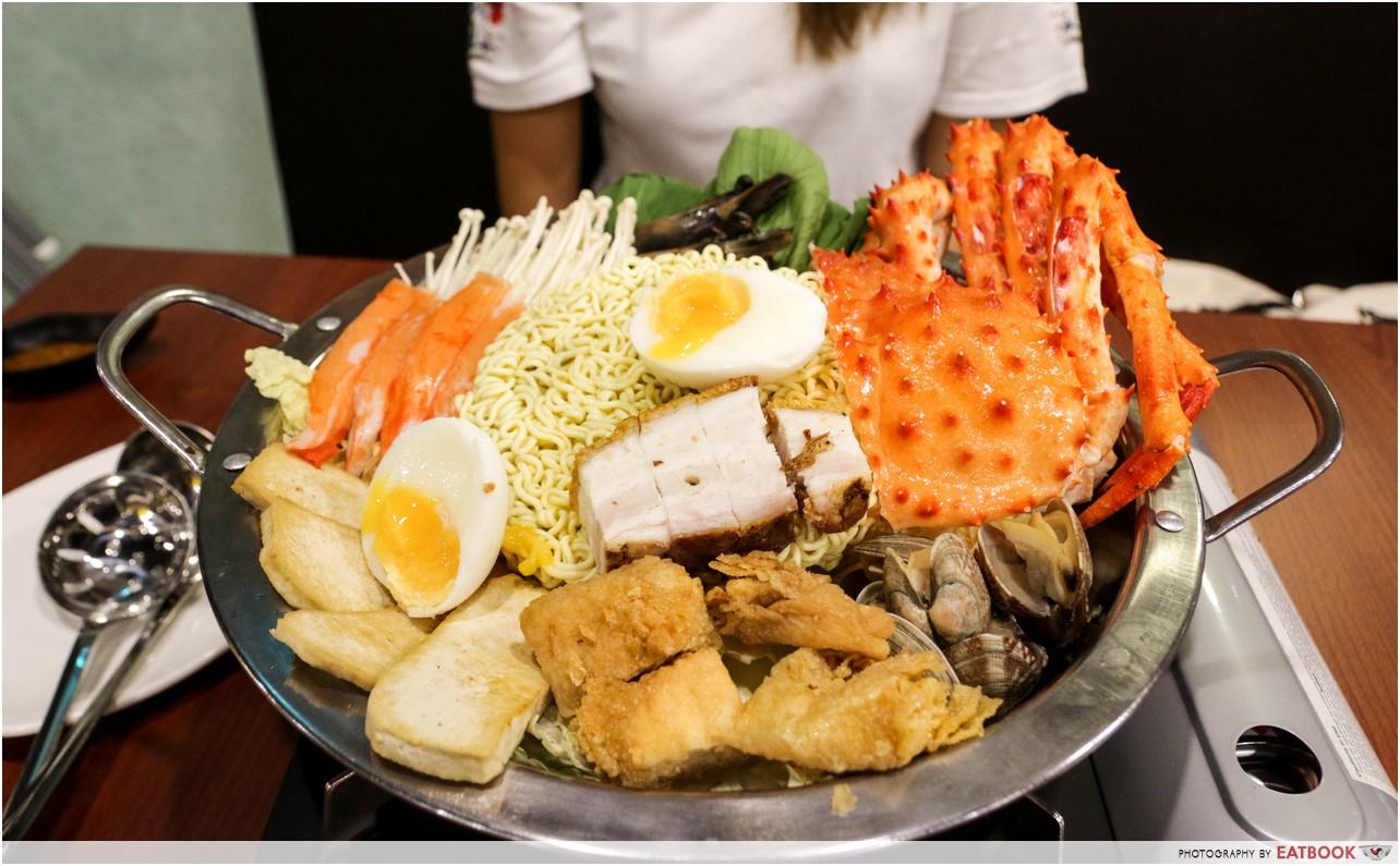 Jin Ho Mia - Alaskan crab hot pot