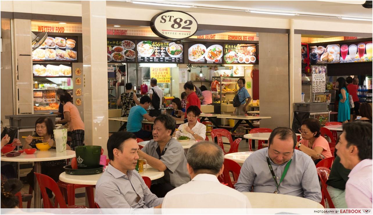 Jin Hock Seafood - ambience