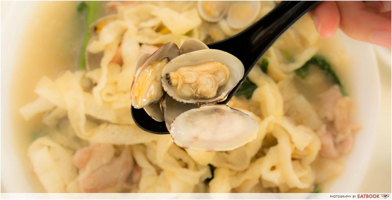 Jin Hock Seafood - clams