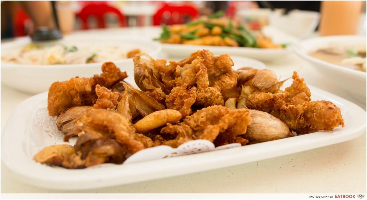 Jin Hock Seafood - pork with garlic