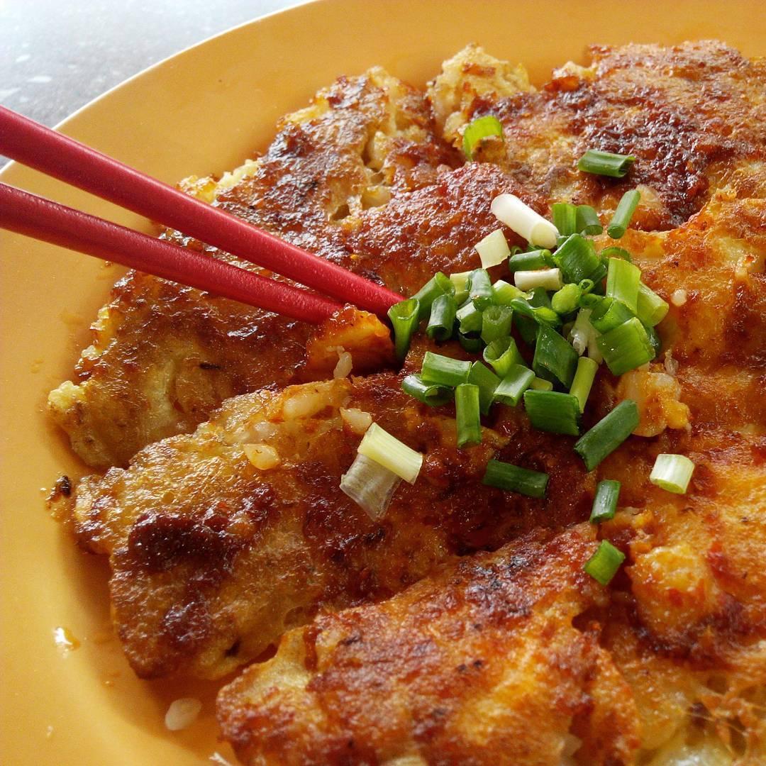 Michelin Hawker Dishes - Chey Sua Carrot Cake