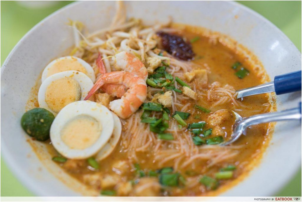 Michelin Hawker Dishes - Famous Sungei Road Trishaw Laksa