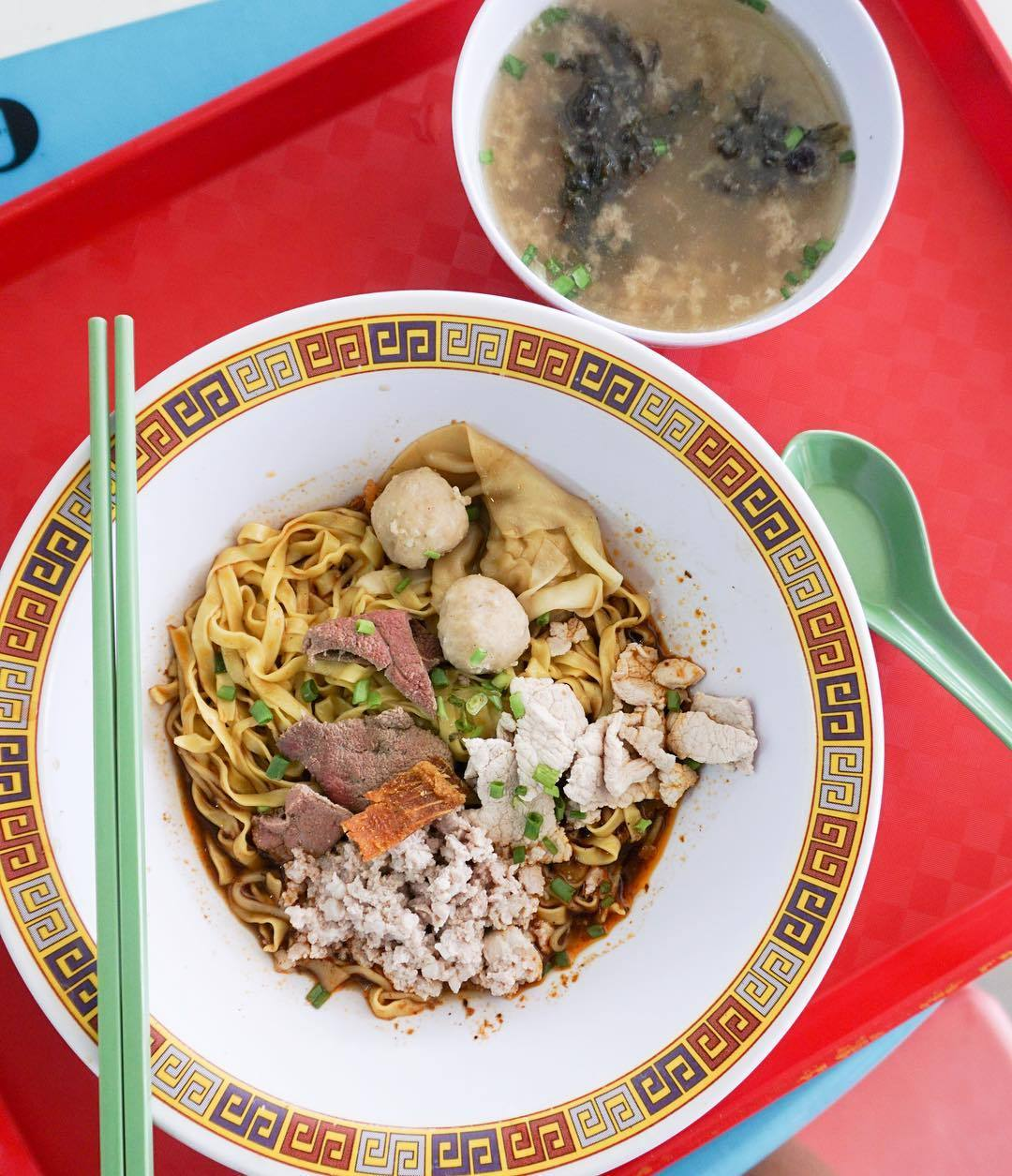 Michelin Hawker Dishes - Hill Street Tai Hwa Pork Noodle