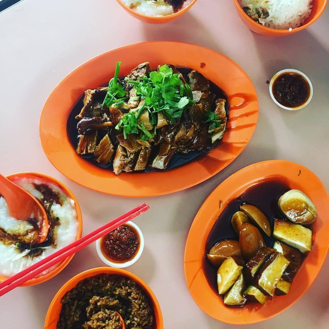 Michelin Hawker Dishes - Liang Zhao Ji Duck Rice Restauran