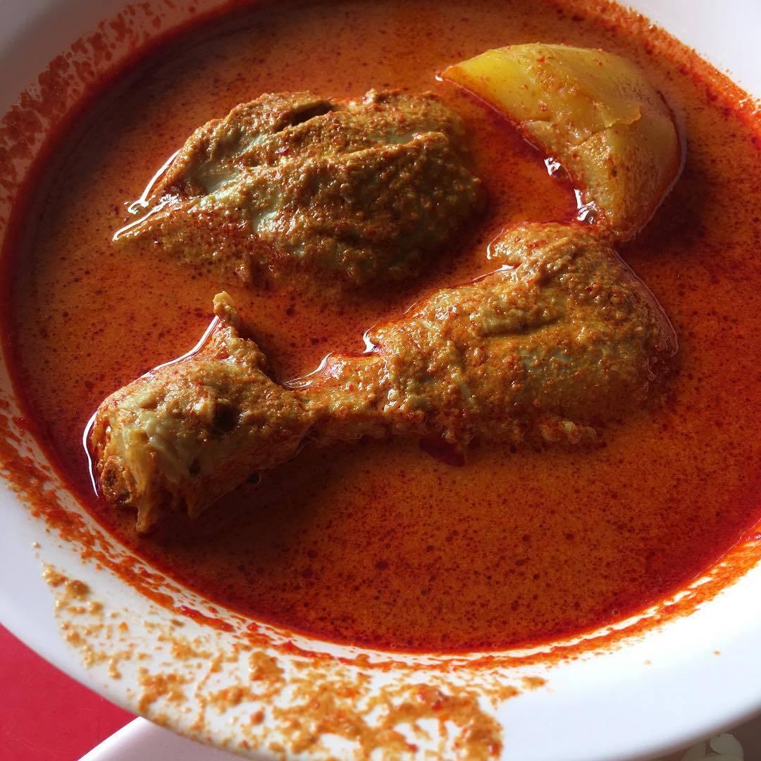 Michelin Hawker Dishes - Na Na Curry