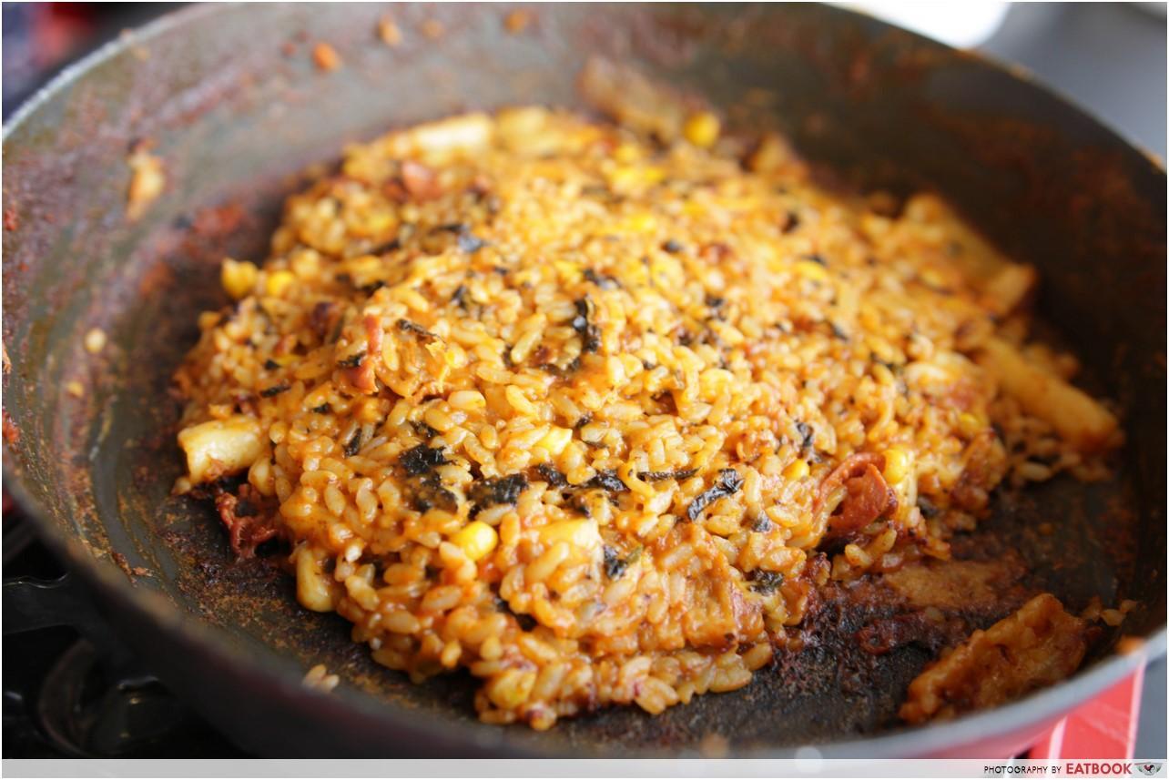 Mukshidonna - Fried rice with cheese halal korean food