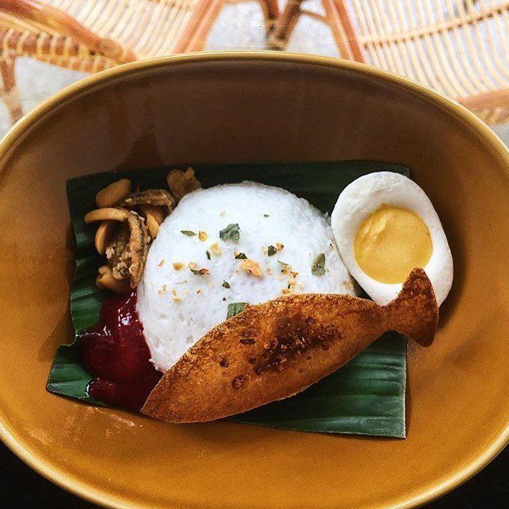 Nasi Lemak-inspired - Non Entree Desserts