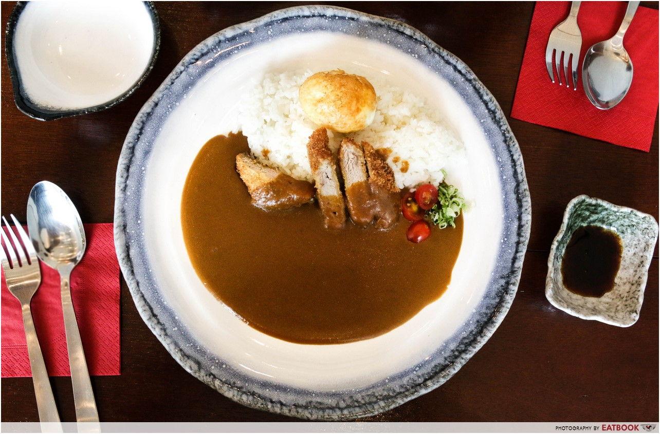 Otoko- curry rice