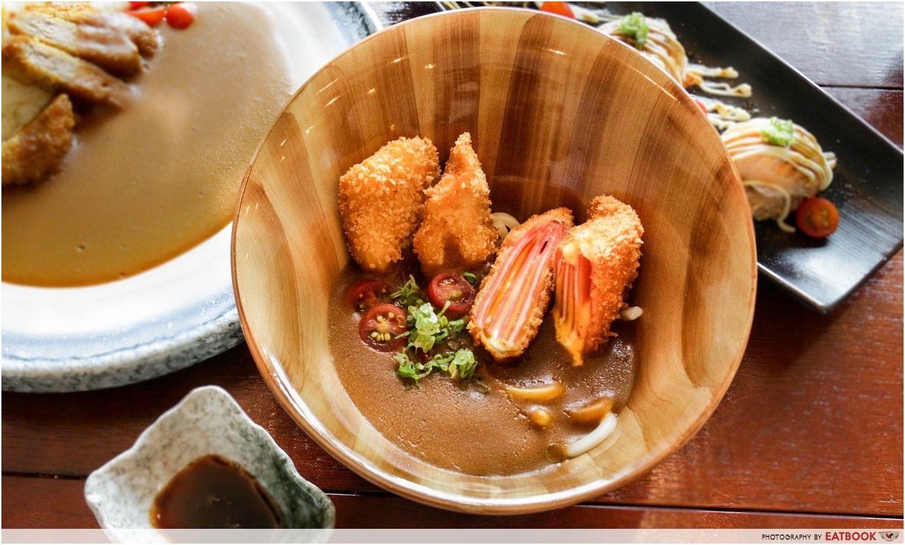 Otoko- curry udon