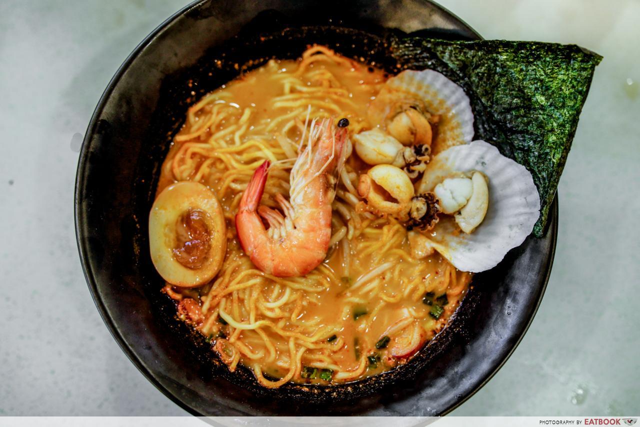 Pasir Ris cheap food haunts - Wakon Ramen