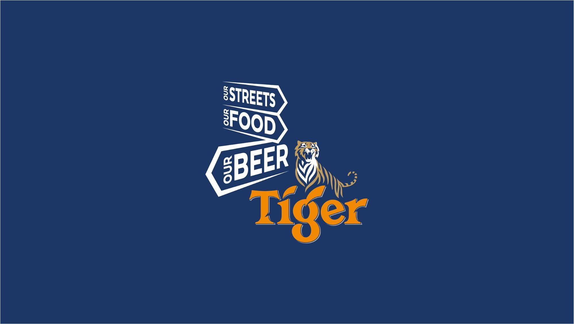 Tiger street food festival- logo