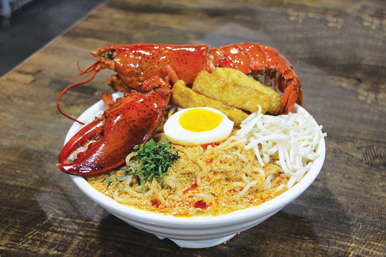world food fair 2017 - lobster laksa