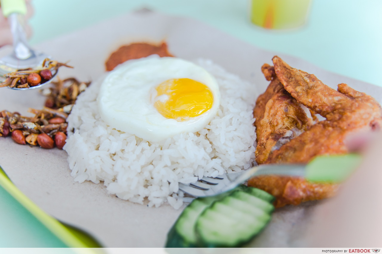 Young hawkers - Wonderfull Nasi Lemak
