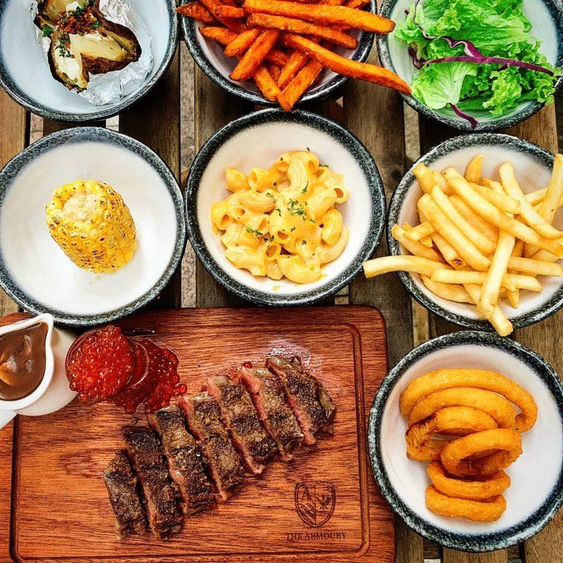 steak buffet the armoury