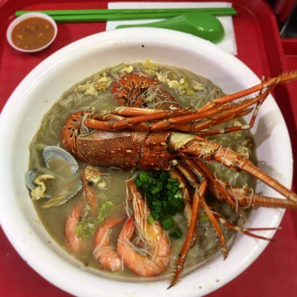 unique lobster dishes - xinshi bee hoon