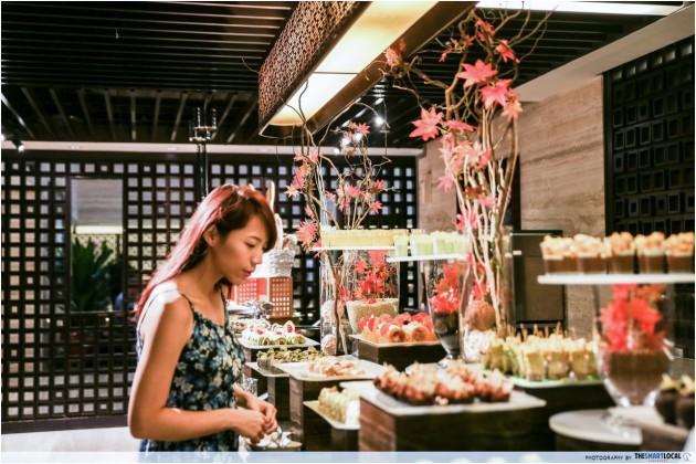 weekday hotel lunch buffets - Triple Three