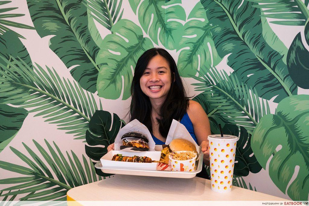 B Burger Review