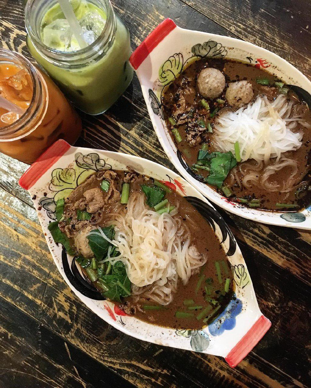 Cheap food around town - Gu Thai Noodle Cafe