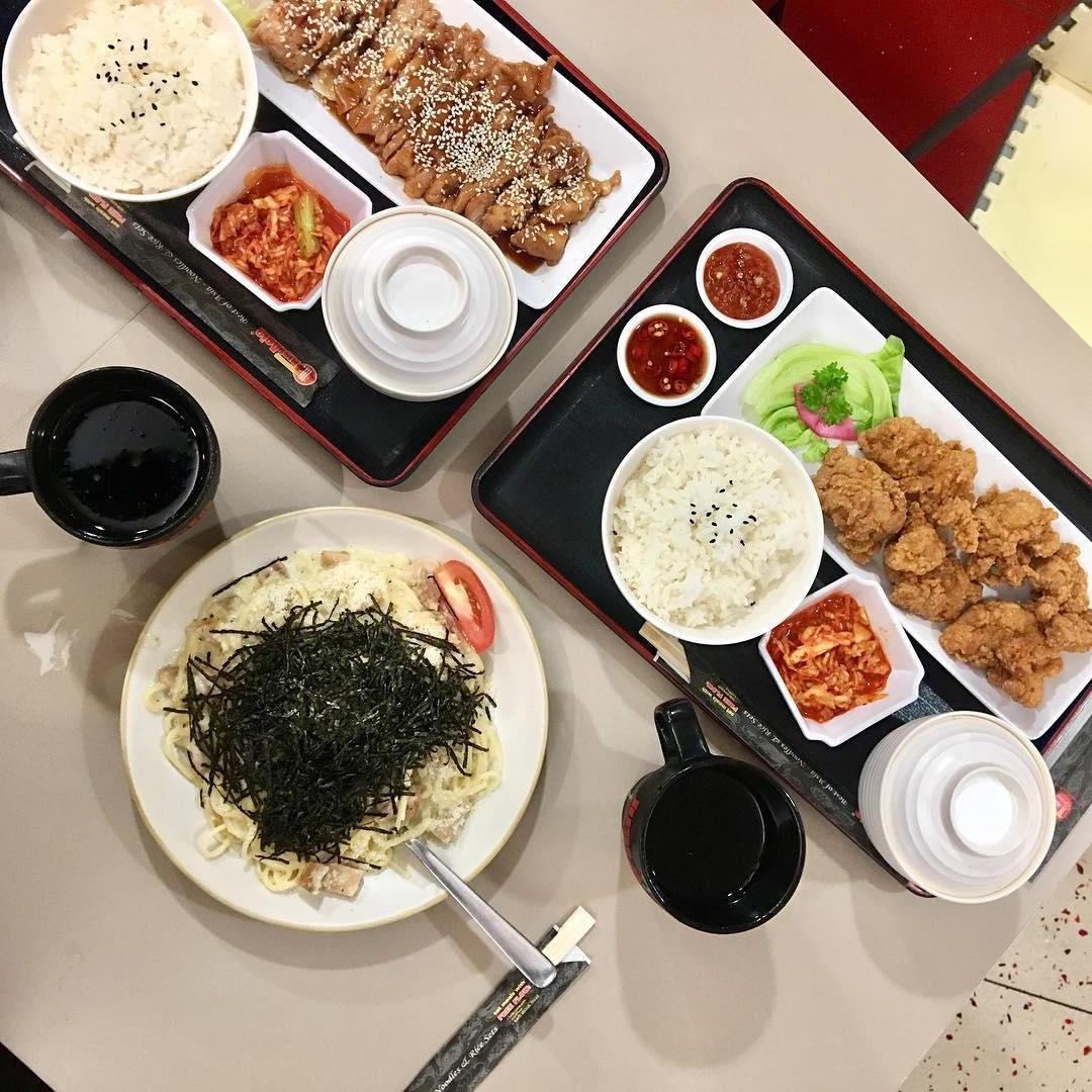 Cheap food around town- Just Acia