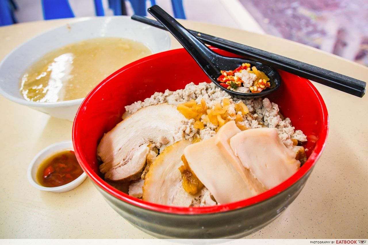 Clementi Hawker Food - Ah Hoe Mee Pok