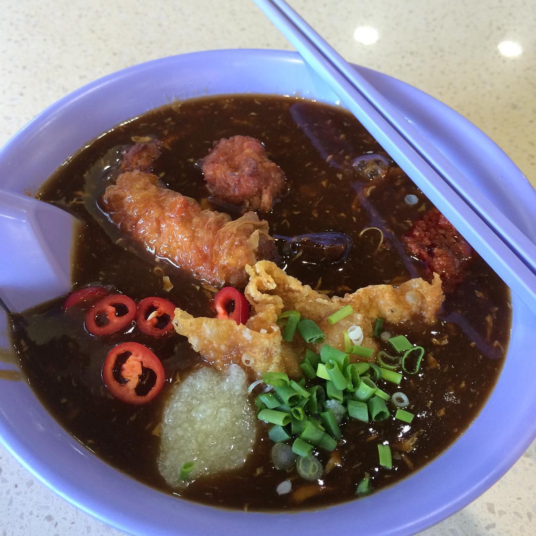 Clementi Hawker Food - Sheng Yi Fa Lor Mee