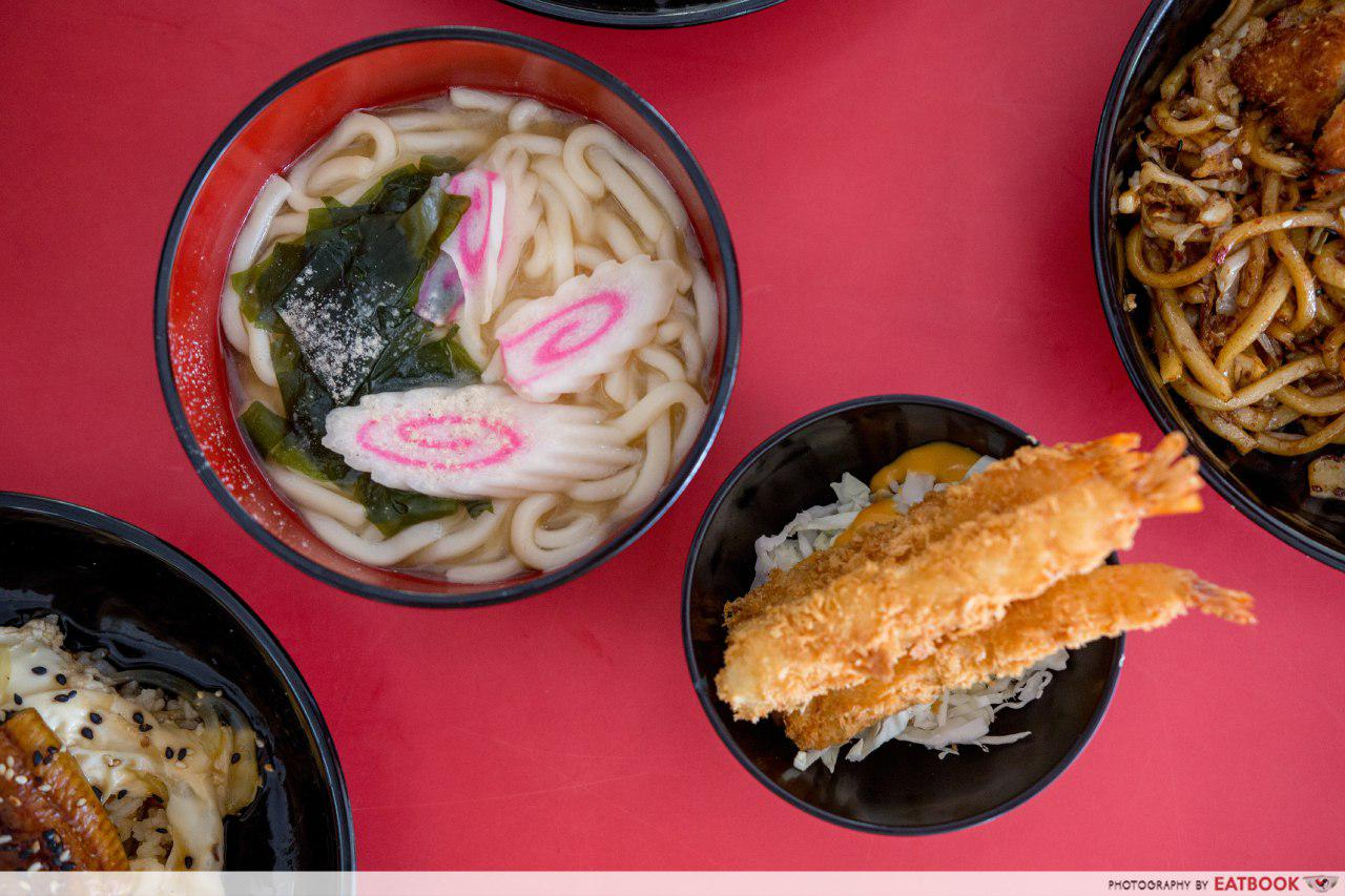 Don and Udon - ebi and udon
