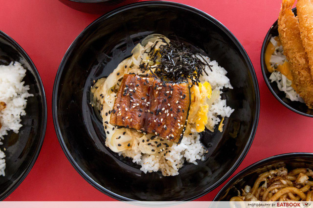 Don and Udon - unagi don