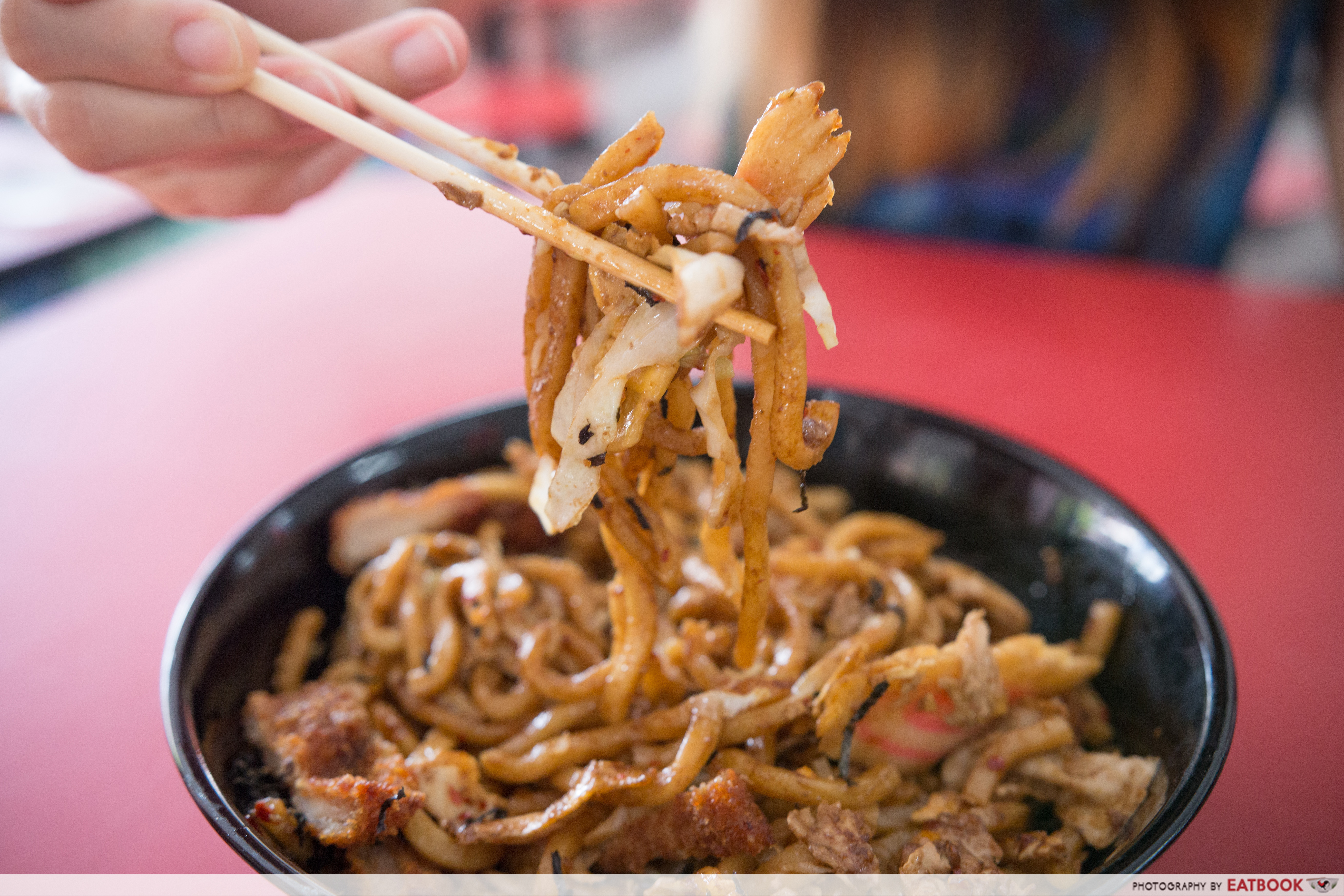 Don and Udon - yaki udon noodles