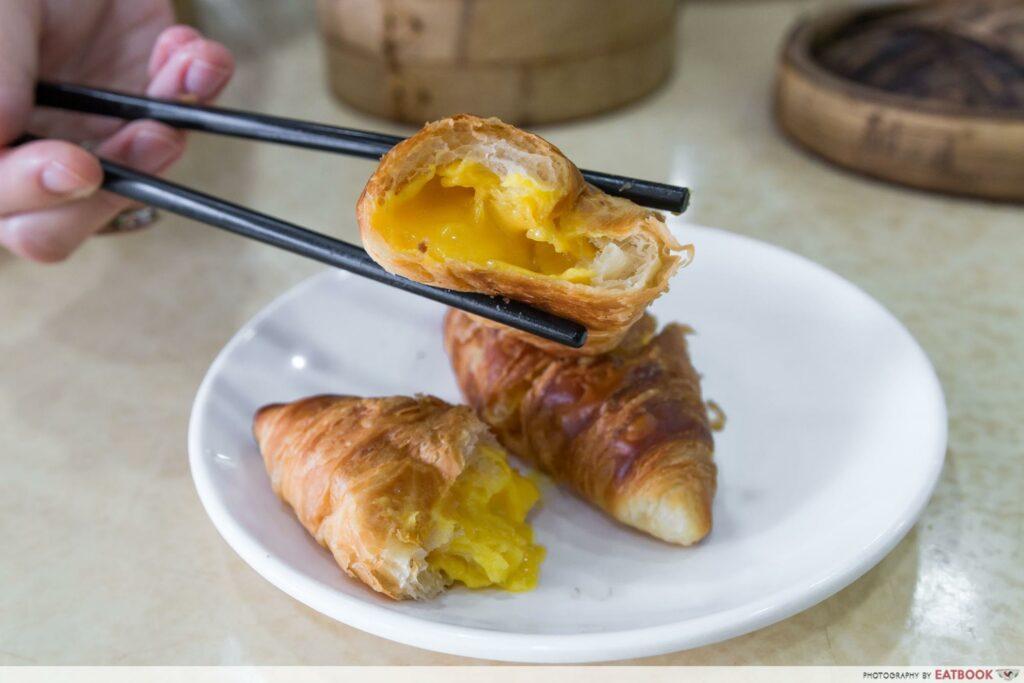 East Bistro - Egg Yolk Custard Croissant