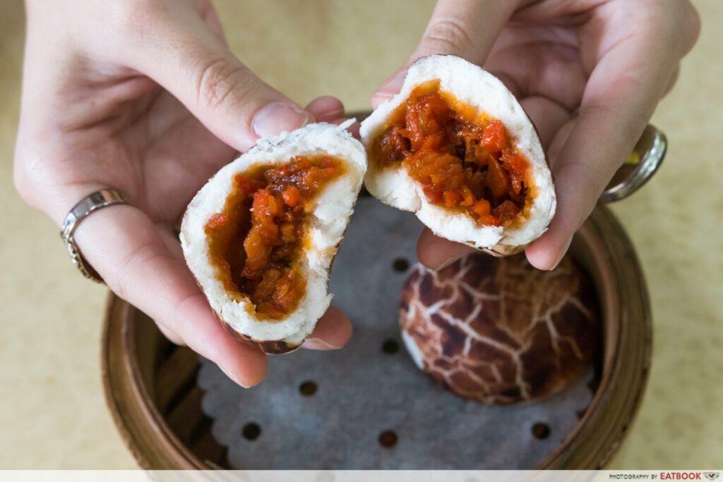 East Bistro - Mushroom Char Siew Bao