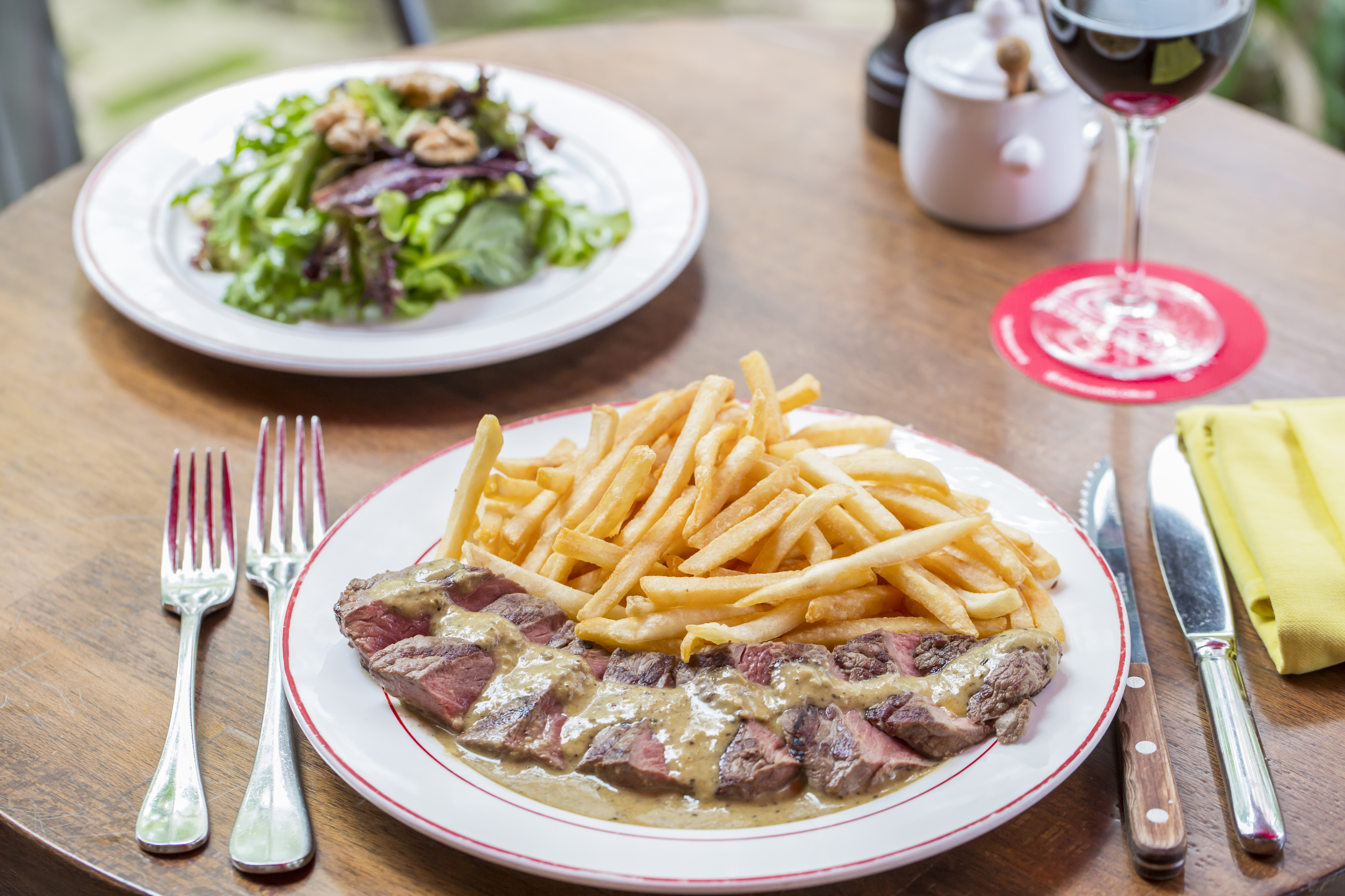Free Fries Day - LEntrecote