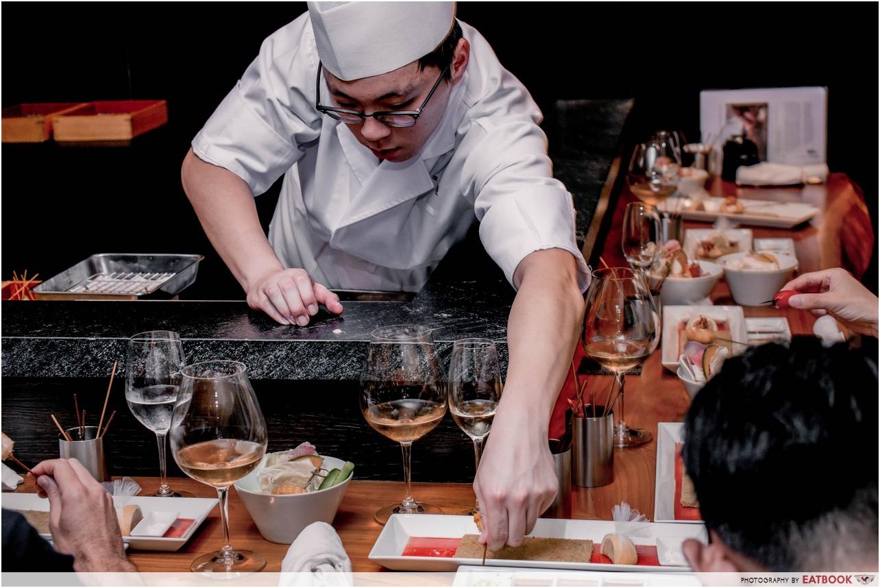 Ginza Rokukakutei - chef