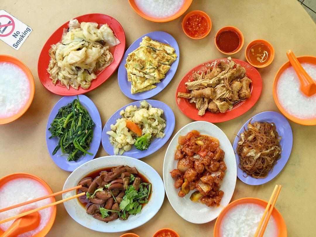 Late night teochew porridge - Ah Seah Teochew Porridge