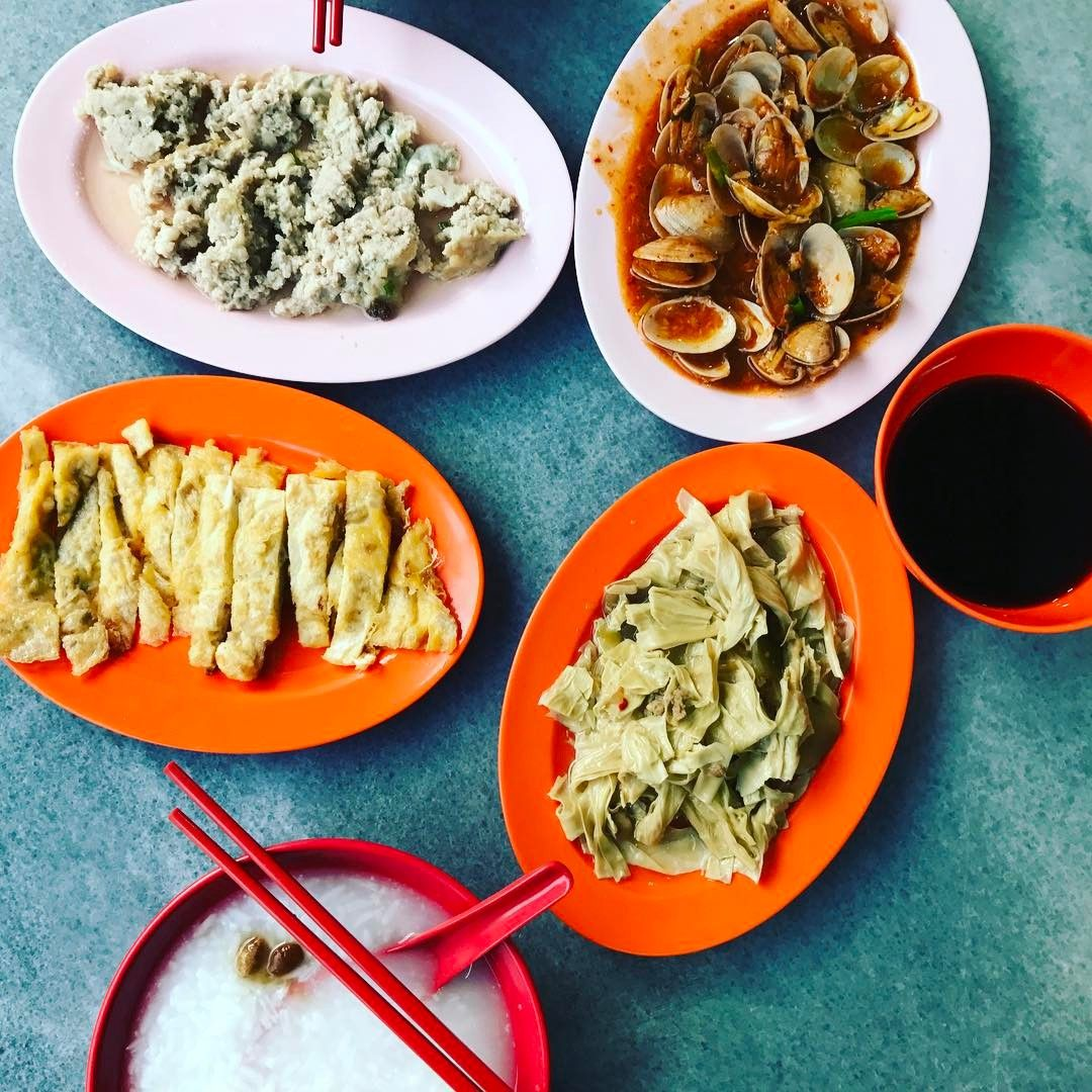 Late night teochew porridge - Broadway Teochew Porridge
