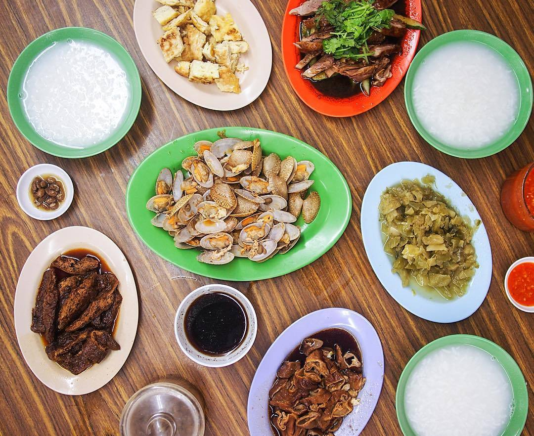 Late night teochew porridge - Lim Joo Hin Eating House