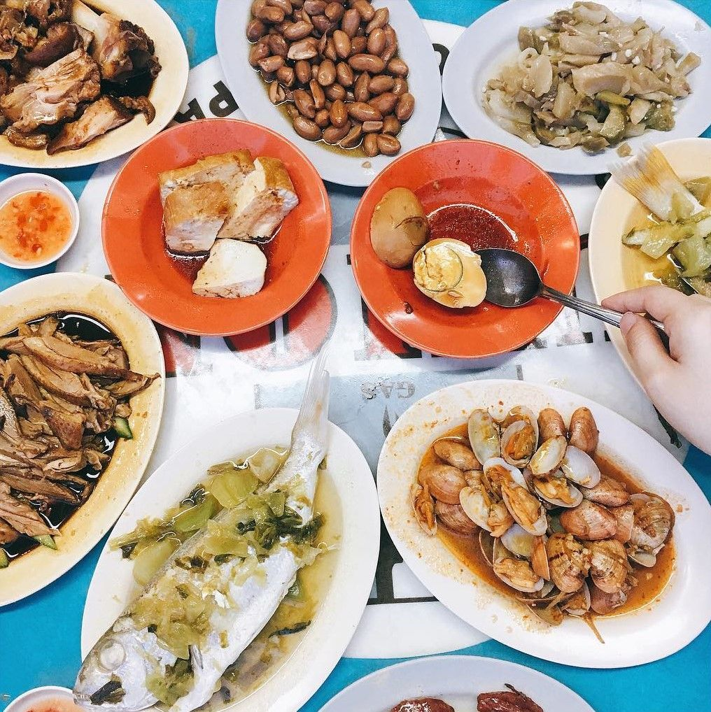 Late night teochew porridge - Sin Hock Heng