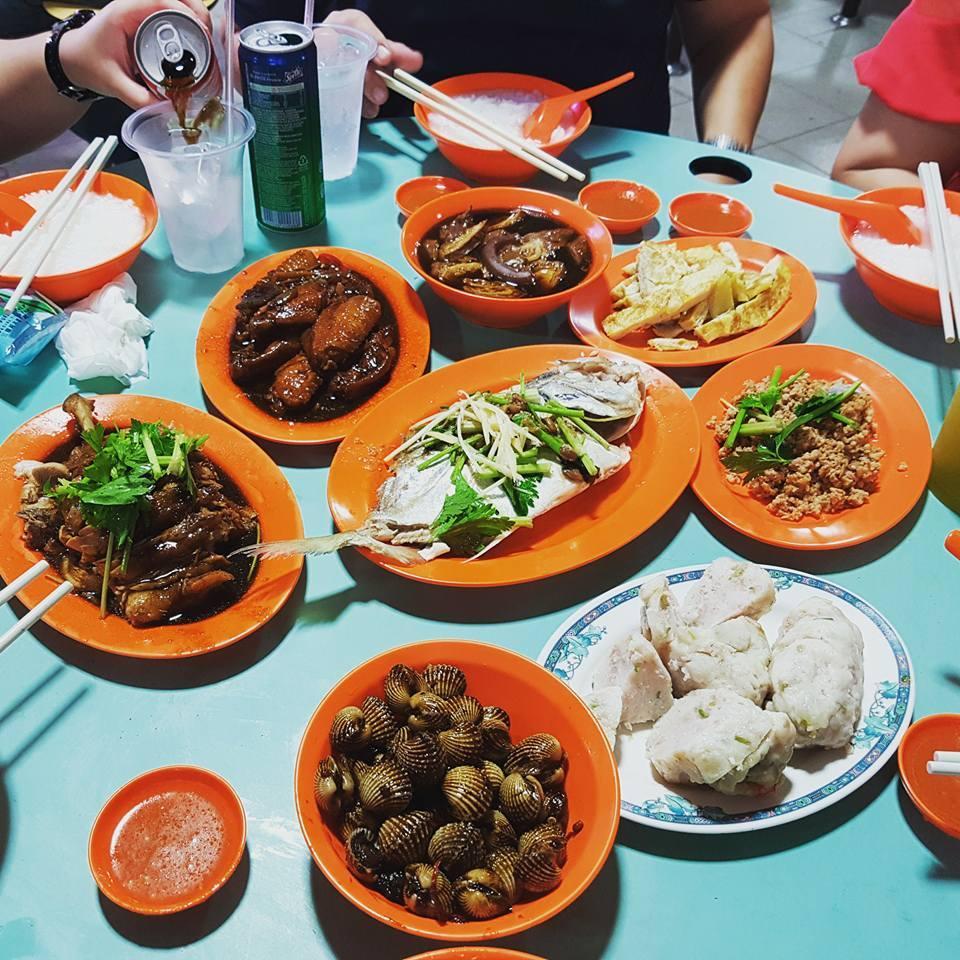Late night teochew porridge - Tian Tian Fatt Rice and Porridge