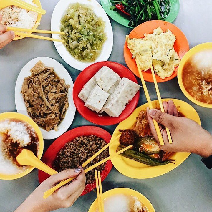 teochew porridge supper - ye shang hai